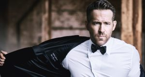 Ryan Reynolds volto di Armani Code