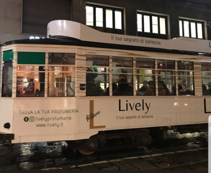 Lively Tram Milano