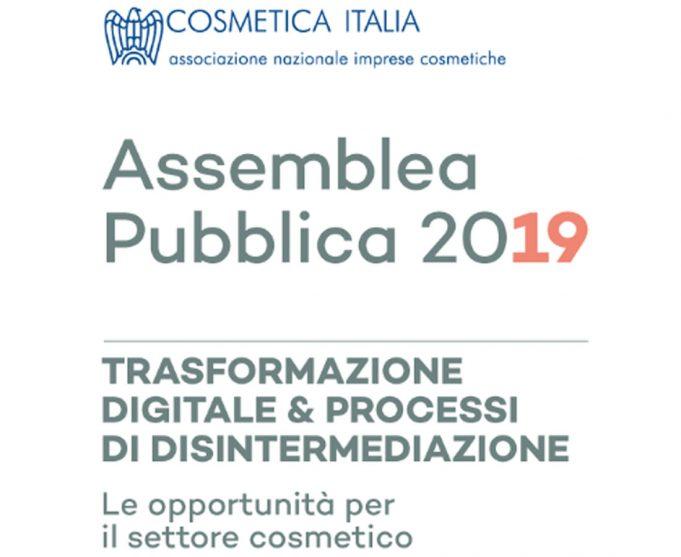 Il 27 giugno c'è l'Assemblea pubblica di Cosmetica Italia