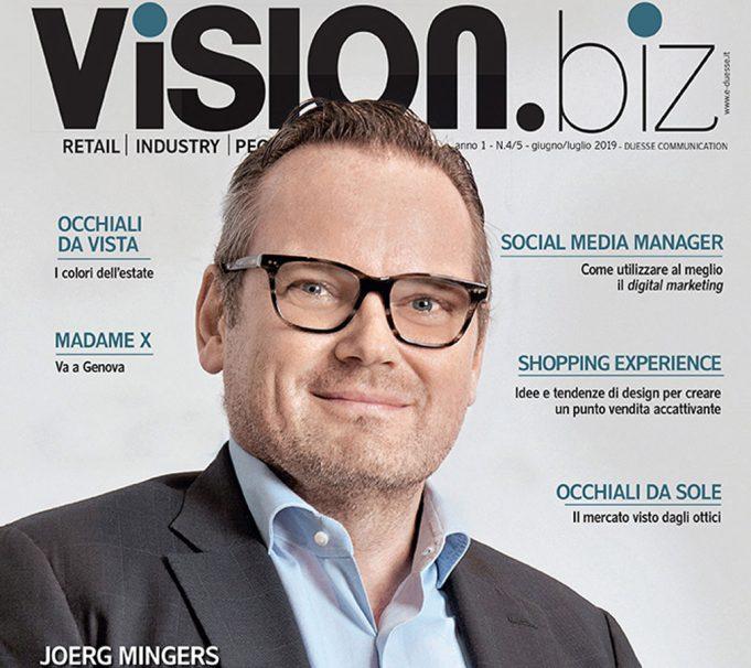 Il nuovo numero di Vision.biz è disponibile in digitale!
