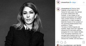 Sofia Coppola omaggia Chanel