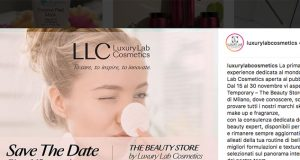 Luxury Lab Cosmetics apre a Milano