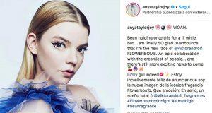 Anya Taylor-Joy è testimonial di Viktor & Rolf