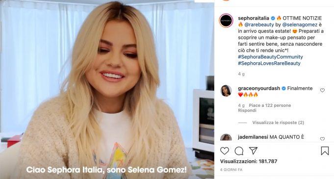 Rare Beauty arriva da Sephora Italia