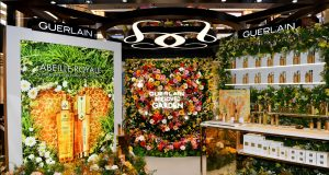 Il giardino di Guerlain da Sinatra
