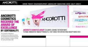 L-GAM entra in Ancorotti Cosmetics