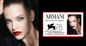 Armani Beauty è nuovamente Sponsor Ufficiale Beauty della 78ª Mostra Internazionale D'arte Cinematografica della Biennale di Venezia. Armani beauty rinnova, per il quarto anno consecutivo, la partnership con la manifestazione, la cui 78esima edizione si svolgerà dal 1° all'11 settembre 2021.