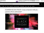 Notino lancia il Summer Black Friday