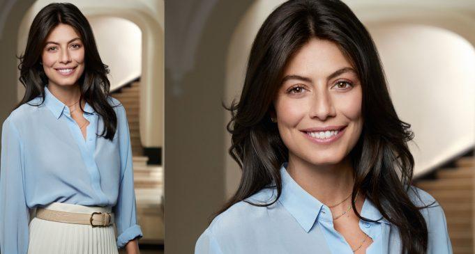 Alessandra Mastronardi volto skincare di Collistar