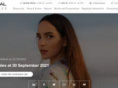 L'Oréal: vendite in aumento del +18,0%